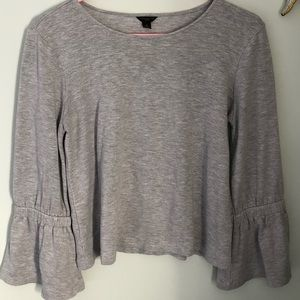 Ann Taylor bell sleeve top